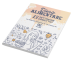 Copertina Diario Alimentare 3D dall'alto